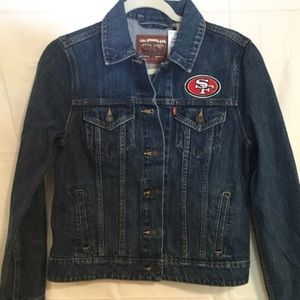 New with tags 49er jacket NFL